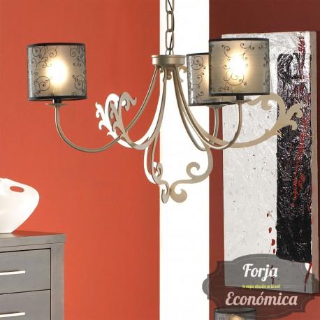 Lámpara de Forja de Colgar JEREZ