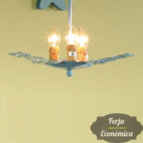 Lámpara de Forja de Colgar OSITOS